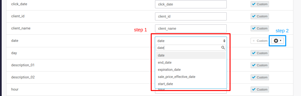 """How do I know which """"date format"""" to select in the import mapping? –  Channable"""